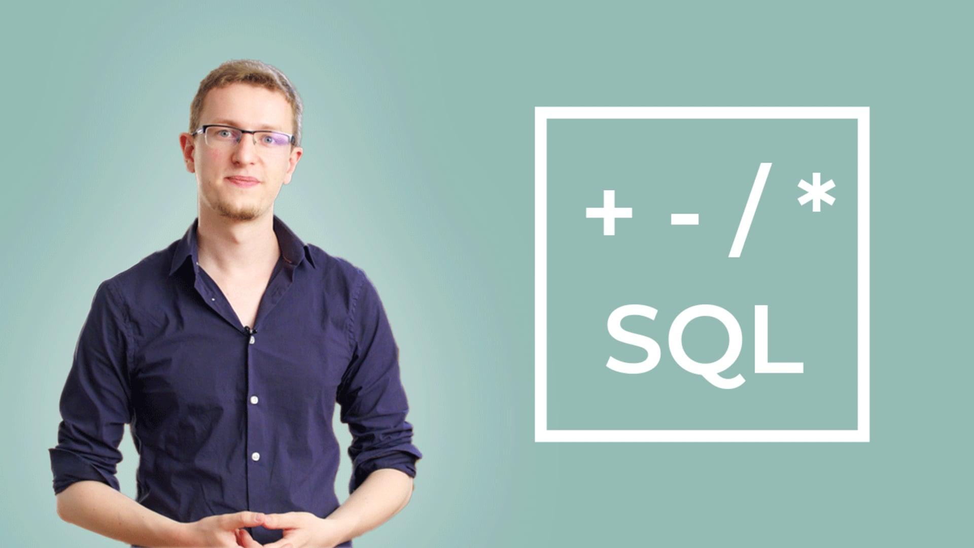 Initiez-vous à l'algèbre relationnelle avec le langage SQL