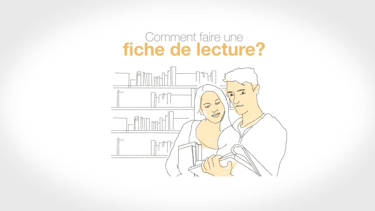 Exemple Fiche De Lecture Article Scientifique - Exemple de ...